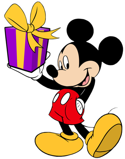 Disney Birthday Clip art and Disney Animated Gifs - Disney Graphic