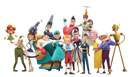 Free Disney's Meet the Robinsons Clipart and Disney Animated Gifs ...
