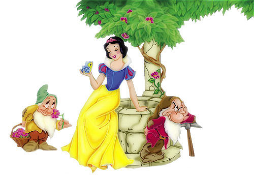 snow white and seven dwarfs pictures. Seven Dwarfs Clip Art and