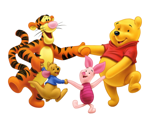 friend clip art. Pooh and Friends Clip Art
