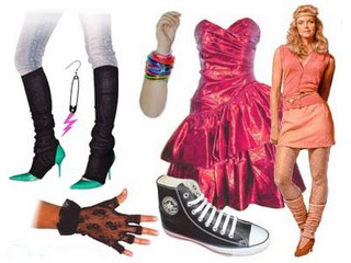 80s female fashion