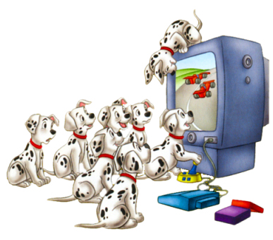 101 dalmations clipart and