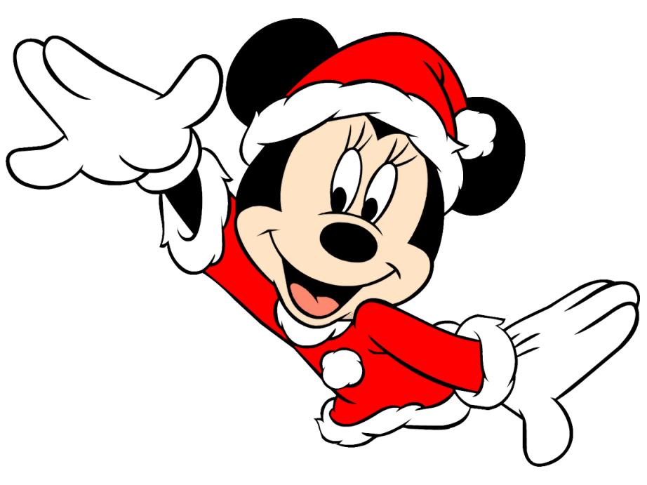 Christmas Minnie mouse