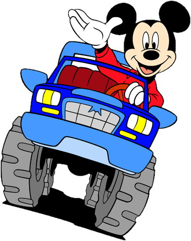 Mickey Mouse Truck