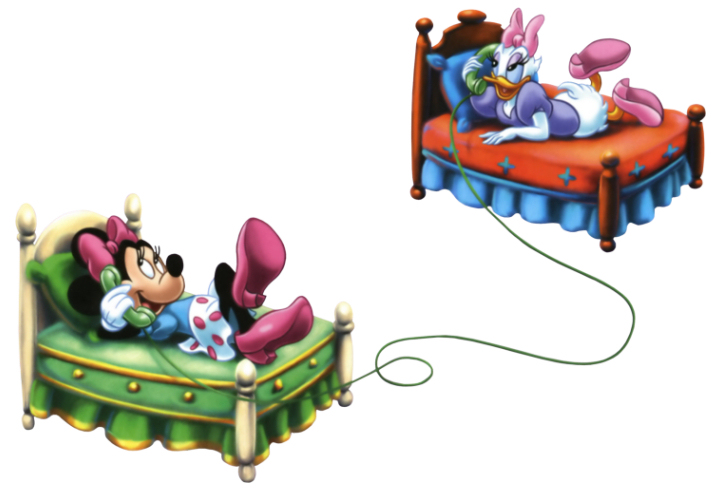 Minnie Mouse Daisy Phone 1