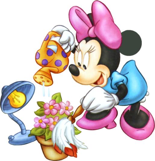 Minnie Mouse Garden 1