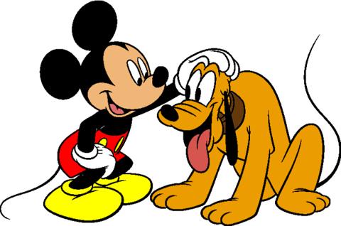 Pluto Mickey1